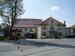 Der Gasthof in Beiersdorf bei Coburg