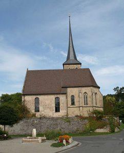 Die Pfarrkirche in Seidmannsdorf (Coburg)
