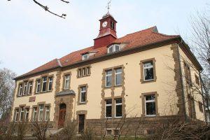 Die Wirtschaftsschule in Cortendorf (Coburg)